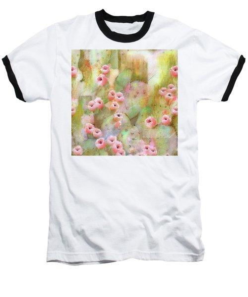 Cactus Rose Baseball T-Shirt