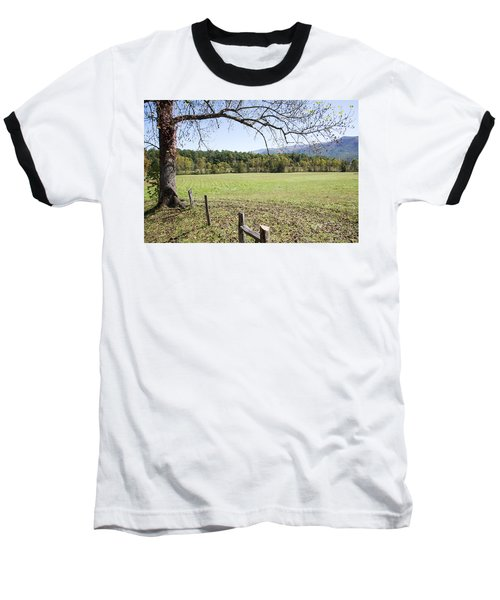 Cades Fence Baseball T-Shirt by Ricky Dean