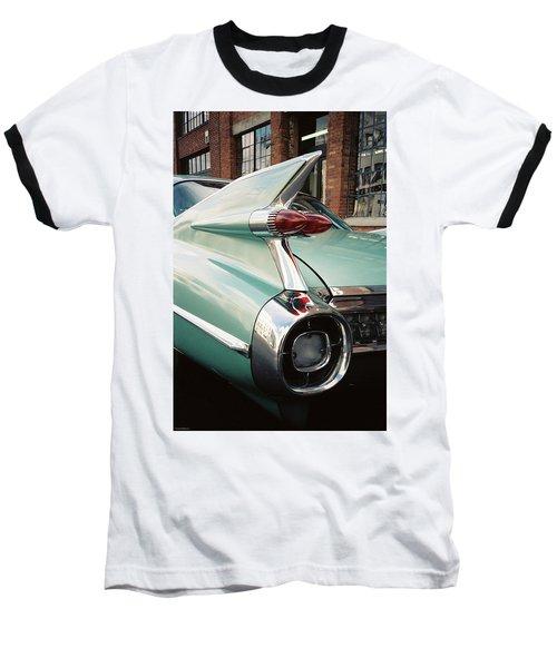 Cadillac Fins Baseball T-Shirt