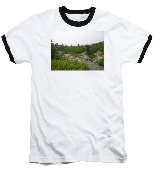 Baseball T-Shirt featuring the photograph Cadillac Mountain by Helen Haw
