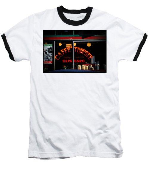 Caffe Trieste Espresso Window Baseball T-Shirt