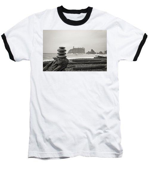 Cairn On A Beach Baseball T-Shirt