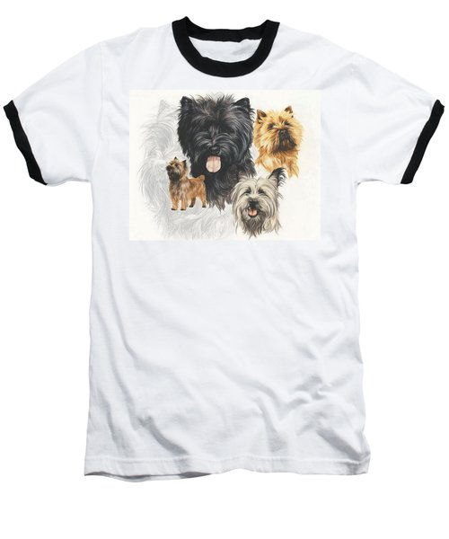 Cairn Terrier Revamp Baseball T-Shirt