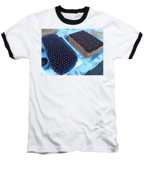 Baseball T-Shirt featuring the photograph Cake And Dreams by Beto Machado