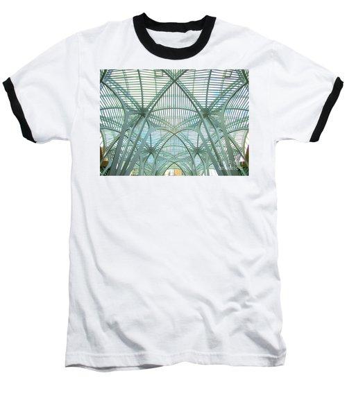 Calatrava In Toronto 10 Baseball T-Shirt by Randall Weidner