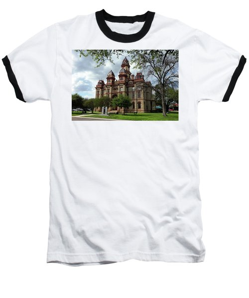 Caldwell County Courthouse Baseball T-Shirt