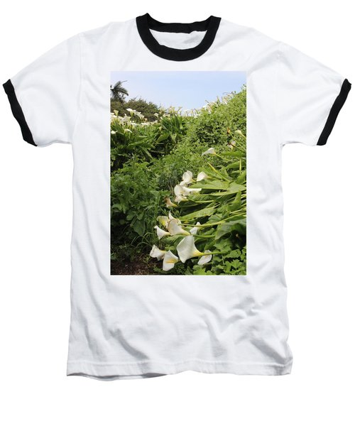 Baseball T-Shirt featuring the photograph Cali Can You Hear Me by Marie Neder