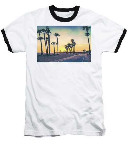 Cali Sunset Baseball T-Shirt