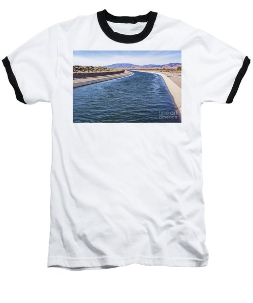 California Aqueduct S Curves Baseball T-Shirt