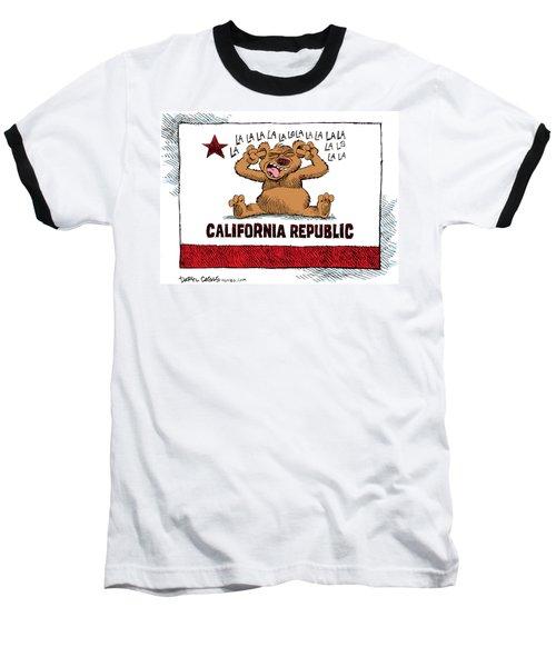 California Budget La La La Baseball T-Shirt