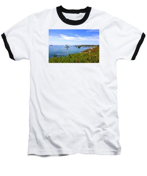 California Coastal Summer Baseball T-Shirt