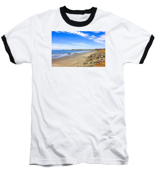 California Coastline Baseball T-Shirt
