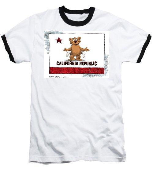 California Empty Pockets Baseball T-Shirt
