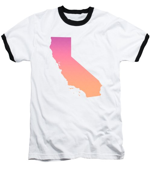 California Summer Ombre Baseball T-Shirt