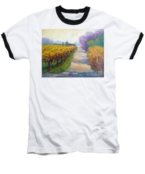 California Wine Country Baseball T-Shirt