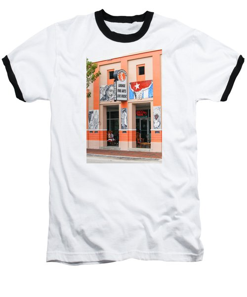Calle Ocho Shop Baseball T-Shirt