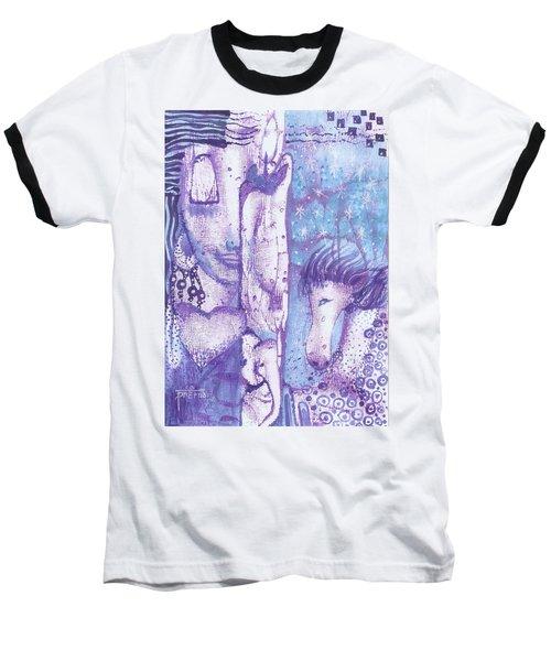 Calling Upon Spirit Animals Baseball T-Shirt