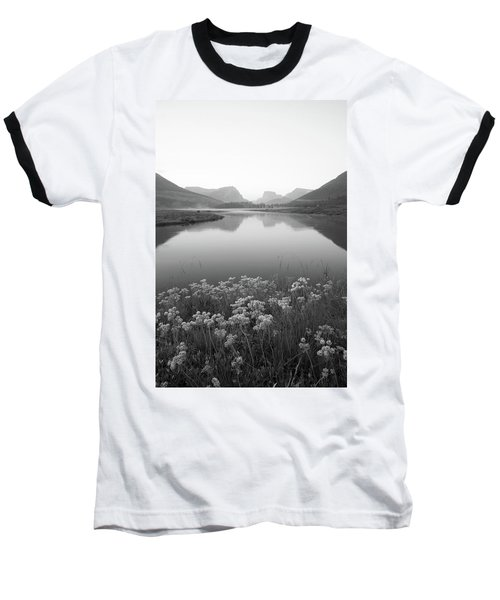 Calm Morning  Baseball T-Shirt by Dustin LeFevre