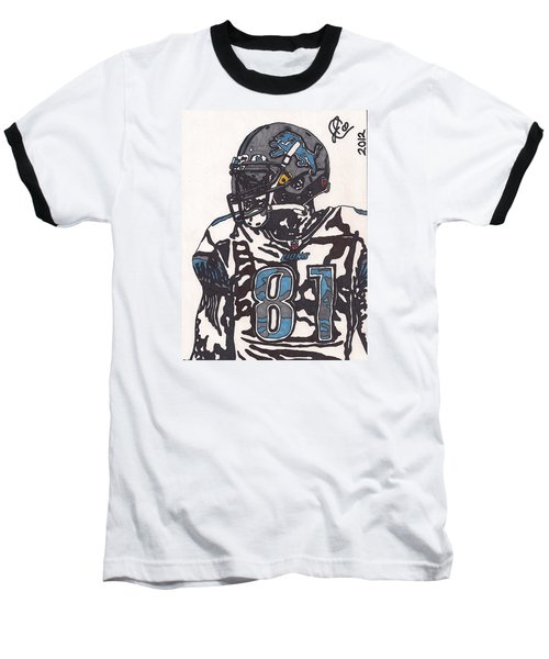 Calvin Johnson Jr 3 Baseball T-Shirt