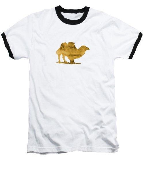 Camel Baseball T-Shirt by Mordax Furittus
