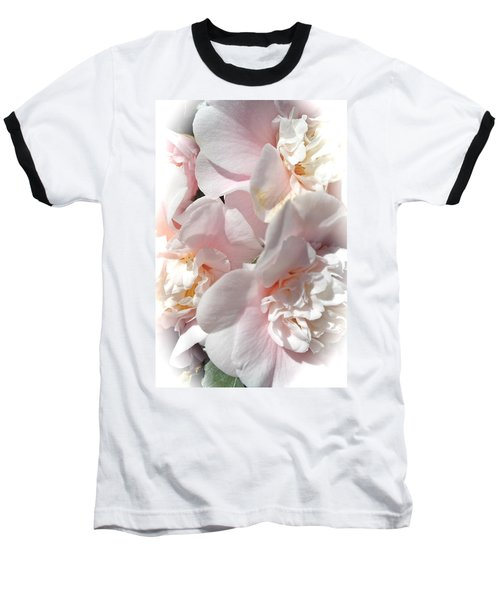 Camellias Softly Baseball T-Shirt