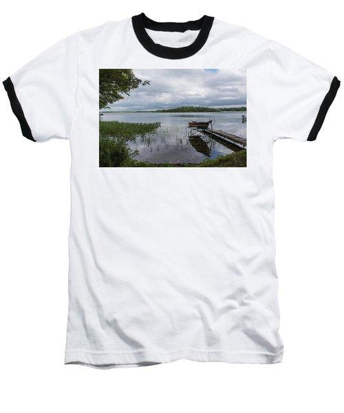 Camelot Island From Wilderness Point Baseball T-Shirt