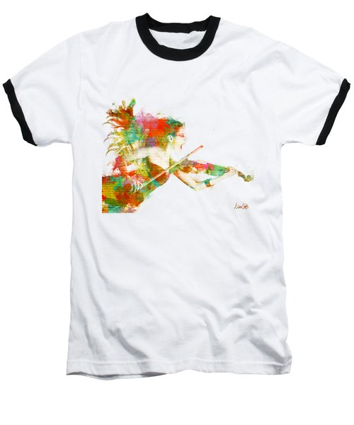 Baseball T-Shirt featuring the digital art Can You Hear Me Now by Nikki Smith