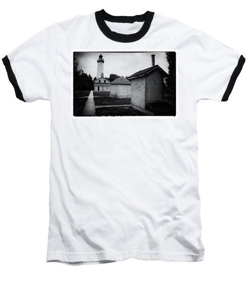 Cana Island Retro Baseball T-Shirt by Janice Adomeit