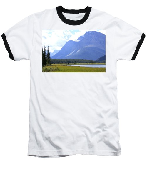 Canadian Mountains Baseball T-Shirt
