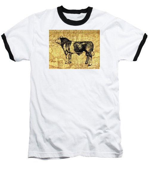 Baseball T-Shirt featuring the drawing Canadian Champion 12 by Larry Campbell
