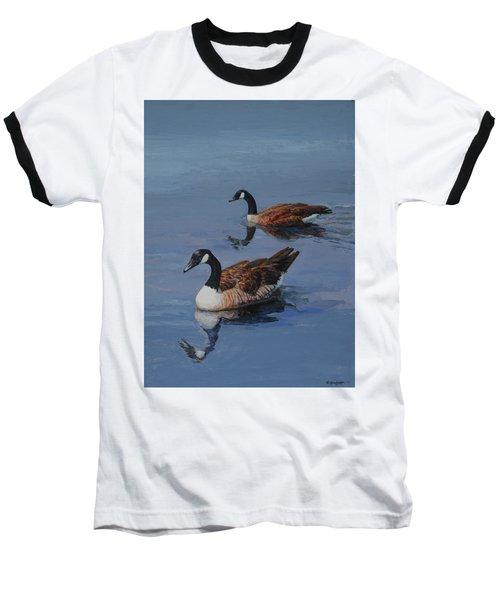 Canadian Geese Baseball T-Shirt