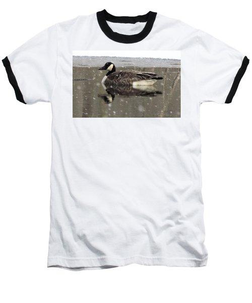 Canadian Goose In Michigan Baseball T-Shirt