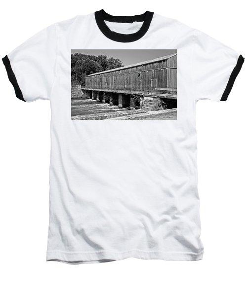 Canal Headgates Baseball T-Shirt by Kay Lovingood