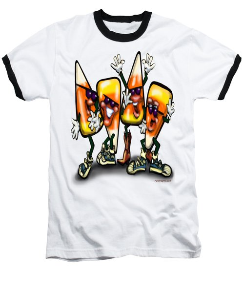 Candy Corn Gang Baseball T-Shirt