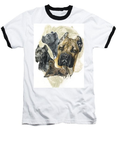 Cane Corso Medley Baseball T-Shirt