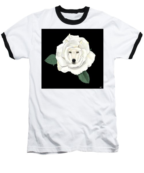 Canis Rosa Baseball T-Shirt