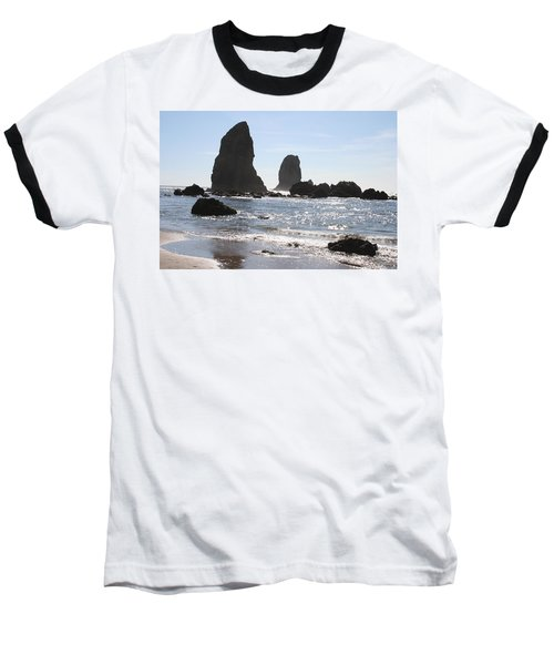 Cannon Beach II Baseball T-Shirt