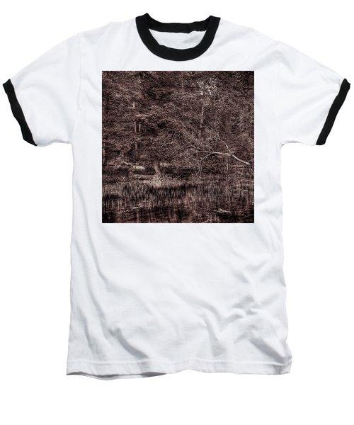 Canoe In The Adirondacks Baseball T-Shirt