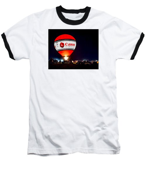 Canon - See Impossible - Hot Air Balloon Baseball T-Shirt