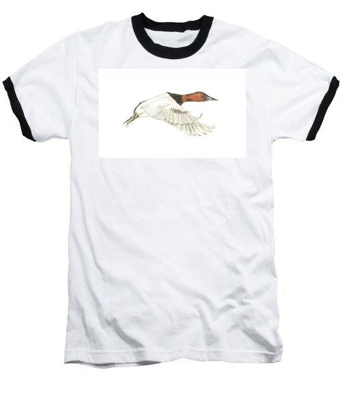 Canvasback Baseball T-Shirt