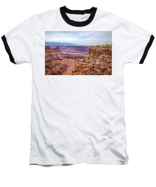 Canyon Landscape Baseball T-Shirt