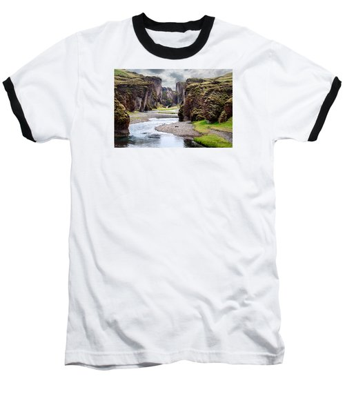 Canyon Vista Baseball T-Shirt by William Beuther