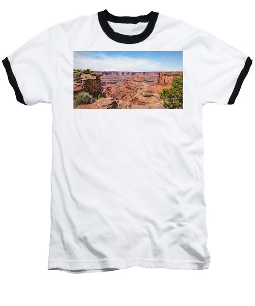Baseball T-Shirt featuring the photograph Canyonlands Near Moab by James Woody