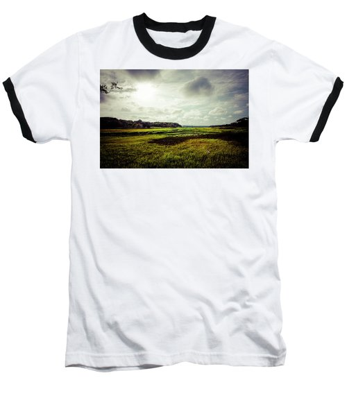 Cape Cod Marsh 1 Baseball T-Shirt