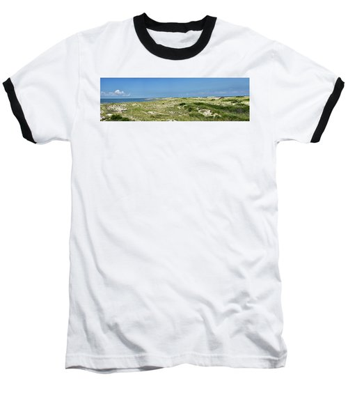 Baseball T-Shirt featuring the photograph Cape Henlopen State Park - The Point - Delaware by Brendan Reals