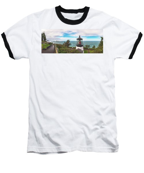Baseball T-Shirt featuring the photograph Cape Meares Bright by Darren White