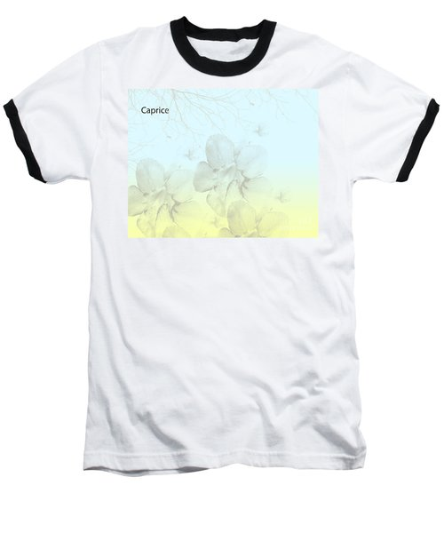 Caprice Baseball T-Shirt by Trilby Cole
