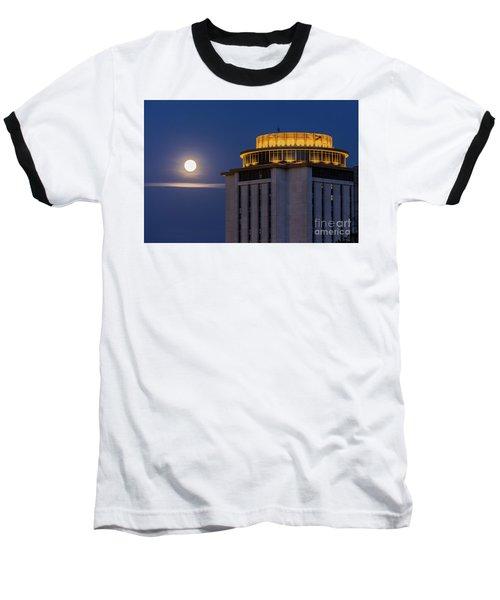 Capstone House And Full Moon Baseball T-Shirt