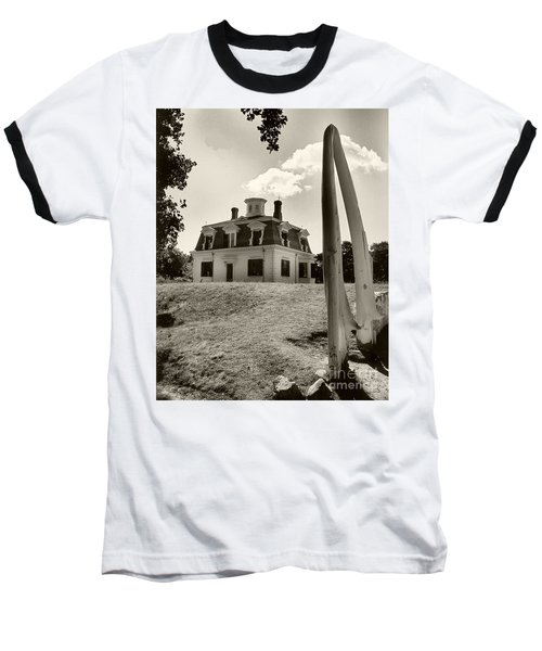 Baseball T-Shirt featuring the photograph Captions Home by Raymond Earley
