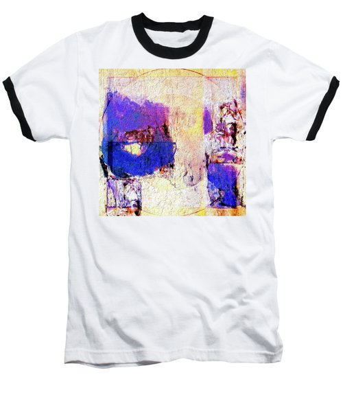 Baseball T-Shirt featuring the painting Captiva by Dominic Piperata